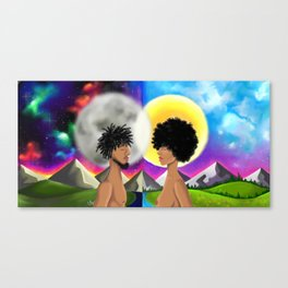 stars appart Canvas Print