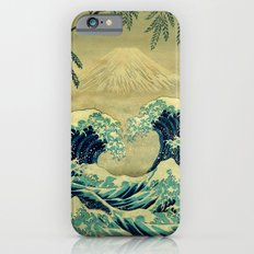 The Great Blue Embrace at Yama Slim Case iPhone 6s