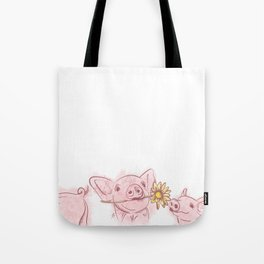 Little Piglets Tote Bag