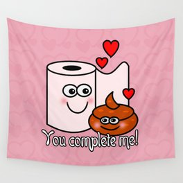 You Complete Me! Wall Tapestry