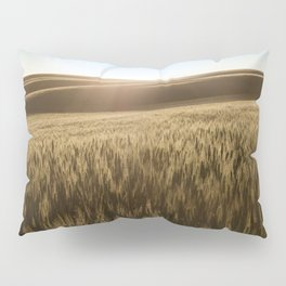 Palouse Sunset Photography Print Pillow Sham