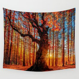 Majestic woods Wall Tapestry