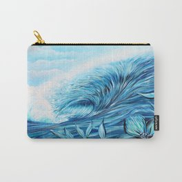 Blue Paradise Carry-All Pouch