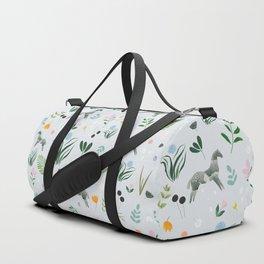 Green Horses Duffle Bag
