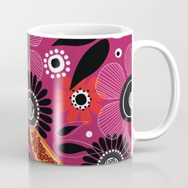 Tropical flowers pattern design Coffee Mug