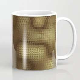Rattlesnakes Love Geometry Coffee Mug