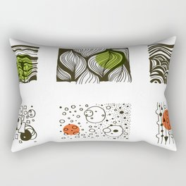 four seasons 2018 calendar Rectangular Pillow