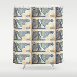 200 Rials Freedom Shower Curtain