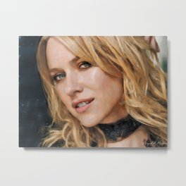 Hollywood - Naomi Watts Metal Print