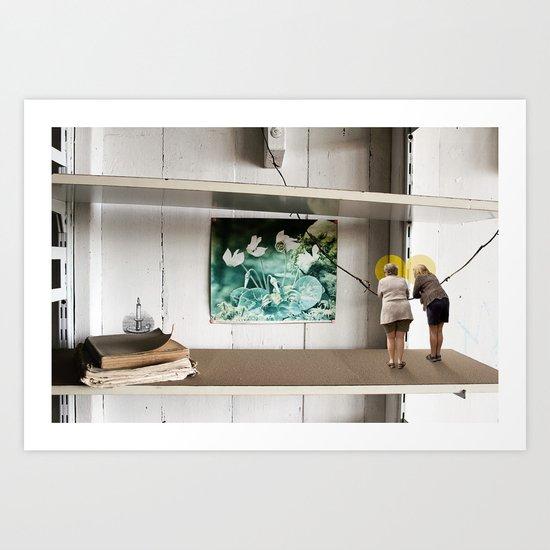 Face the Future Art Print