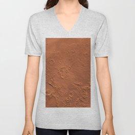 Mars Surface Unisex V-Neck