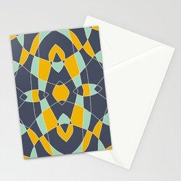 Abstrace Retro Colored Mandala Stationery Cards