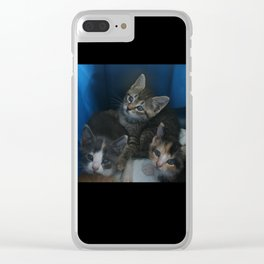 1, 2 & 3 of 8 DPG150830a Clear iPhone Case