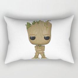 Little Groot Rectangular Pillow