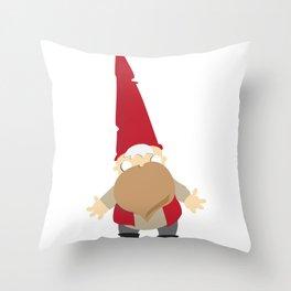 gnomie Throw Pillow