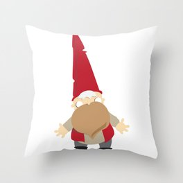 gnomie Throw Pillow