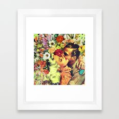 Floral Bed 2 Framed Art Print