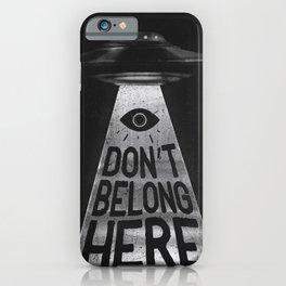Because I'm a Creep iPhone Case
