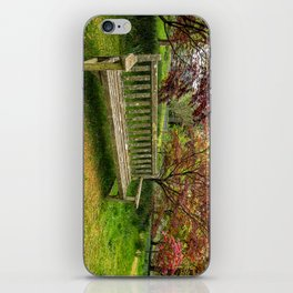 Garden Bench iPhone Skin