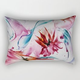 Asters Rectangular Pillow