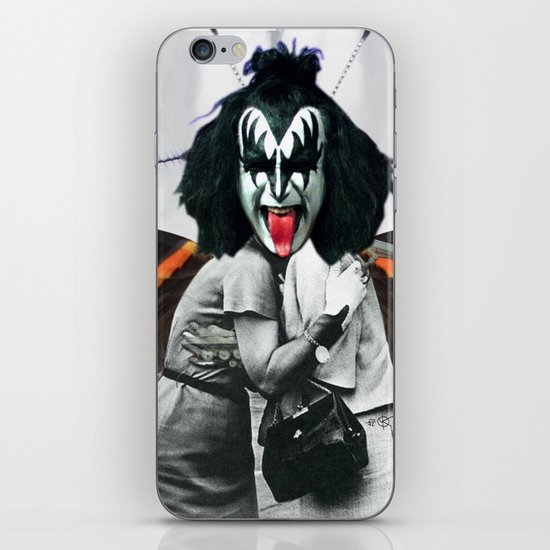 The last Kiss Collage iPhone & iPod Skin