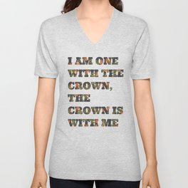 One With the Crown Unisex V-Neck