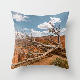 Dying Tree at Bryce Canyon National Park Throw Pillow