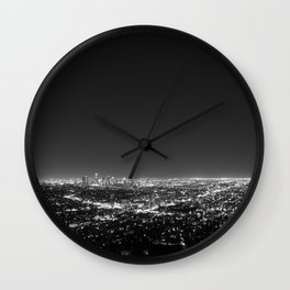 LA Lights Wall Clock