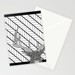 White Tail Buck... Oh Deer Stationery Cards