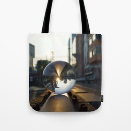 The World from another Perspective Tote Bag