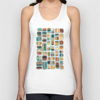 kandinsky Tank Tops featuring Color apothecary by Efi Tolia