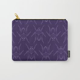 Plum Beetles Carry-All Pouch