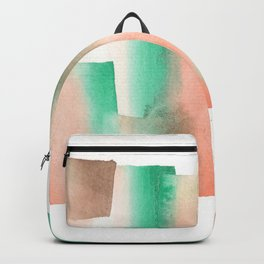 [161228] 12. Abstract Watercolour Color Study  |Watercolor Brush Stroke Backpack