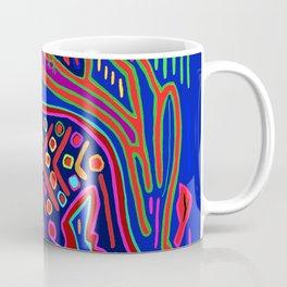 San Blas Island Kuna Tiger Coffee Mug