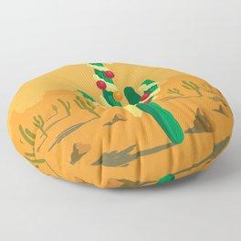 Merry Cactus Floor Pillow