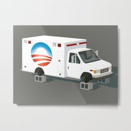 Obamacare is Now Beyond Rescue Metal Print