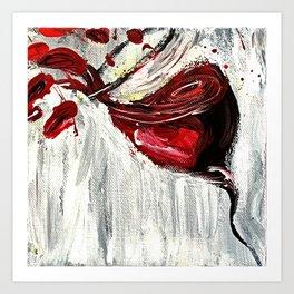 Red Wine Art Print
