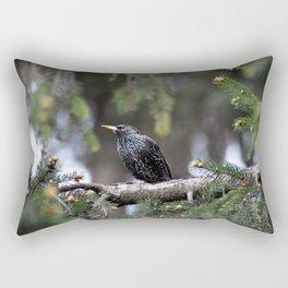 European starling Rectangular Pillow
