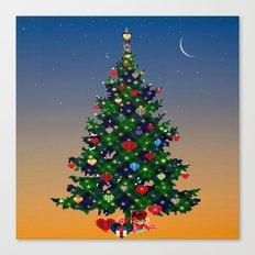 Make A Holiday Wish Canvas Print