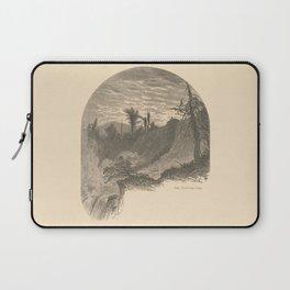 Vintage Adirondacks: Lower Falls, Ticonderoga Laptop Sleeve