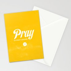 Pray Without Ceasing Stationery Cards
