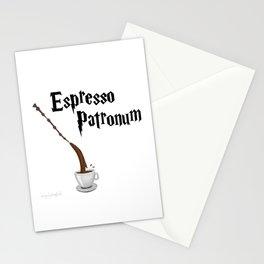 Espresso Patronum design Stationery Cards