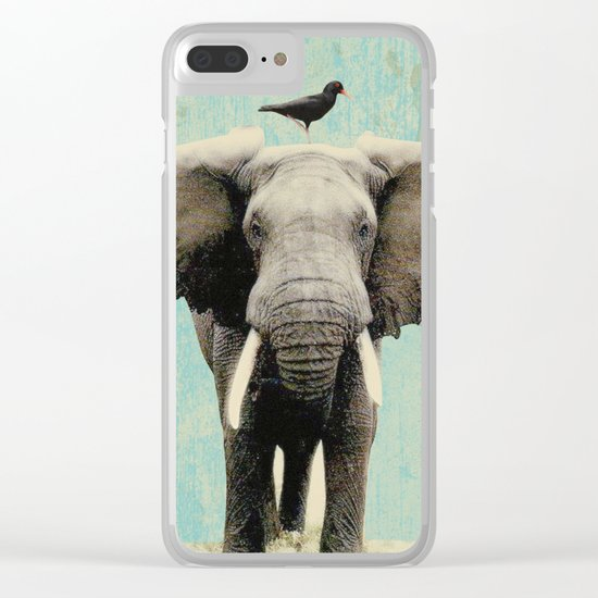 friends for life Clear iPhone Case