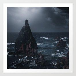 Dark waterscape 1 Art Print
