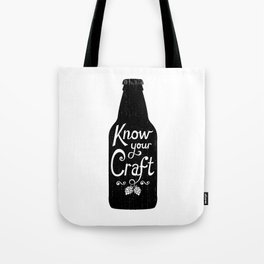 Know Your Craft Tote Bag