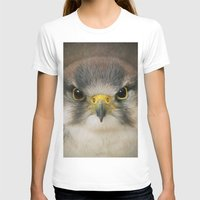 falcon T-shirts featuring Falcon by Pauline Fowler ( Polly470 )