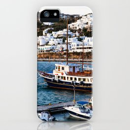 Mykonos, Greece. iPhone Case