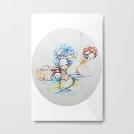Yaa and Her Sisters Metal Print