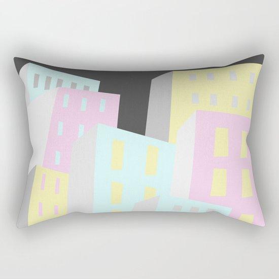 Neighborhood Rectangular Pillow