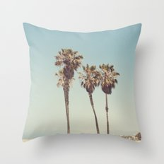 Vintage Venice Throw Pillow